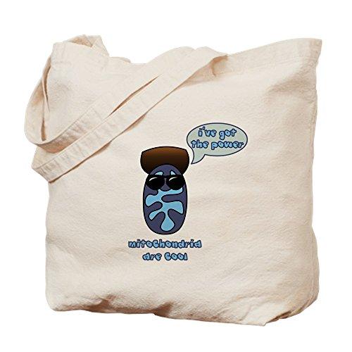 CafePress - Mitochondria - Naturleinen-Einkaufstasche -