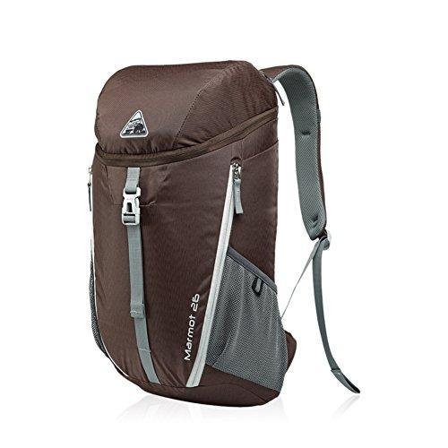 borsa a tracolla casual/Borse da viaggio/borse degli studenti/pacchetto esterno-Army Green Marrone