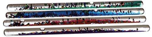 Preisvergleich Produktbild 1 Stück Zauberstab mit Glitter (6 Farben - keine Auswahl möglich