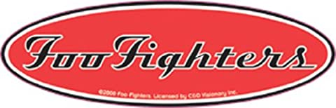 FOO FIGHTER Oval Logo, Officially Licensed Artwork, Premium Quality, 5.5