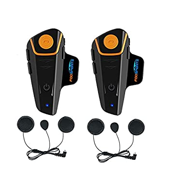 Fodsports BT-S2 Intercomunicador de Motocicleta