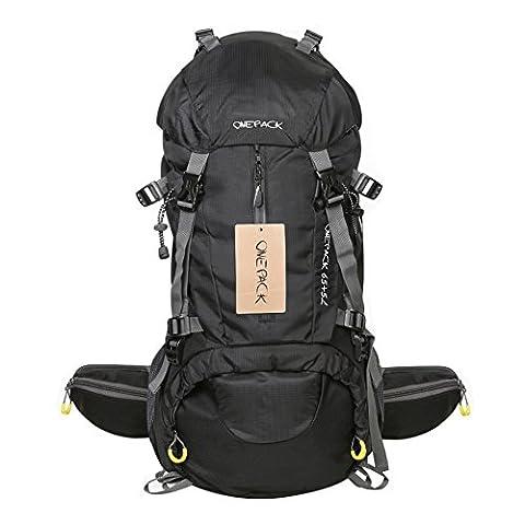 Sac A Dos 70 Litres - RiseSun 70L Imperméable Outdoor Sport Randonnée Trekking