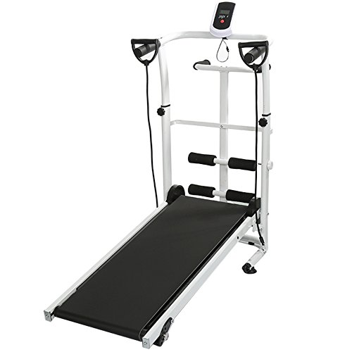 WeFun Tapis roulant Home,Tapis Roulant Fitness con Schermo LED