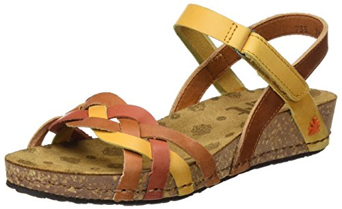 The Art Company - 0735 0735 Mojave Pompei, Scarpe col tacco Donna Marrone (Multi Cuero)