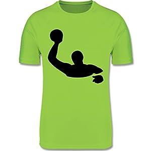 Sport Kind – Wasserball – atmungsaktives Laufshirt/Funktionsshirt für Mädchen und Jungen
