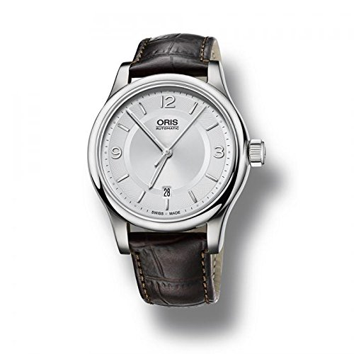 Oris Classic Date Men Mens Automatic Watch Leather