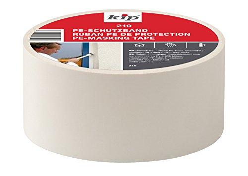 Kip 221651 PE-Schutzband 219-56, 50 mm x 33 m, Weiß