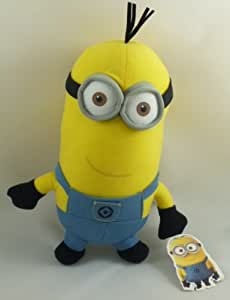 9 Inch 'Despicable Me 2' The Movie 3D Tall Minion Plush Soft Toy (PL105D)