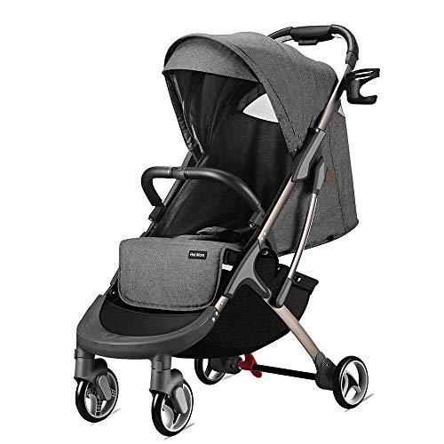 Hot Mom leichtgewichter Kinderwagen Buggy leicht Sitzbuggys für Reise geeignet, 2020 new