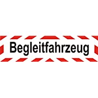 """LKW Magnetfolie Auto Magnetschild /""""Einsatzleitung/"""" mit Rahmen 30 x 8 cm"""