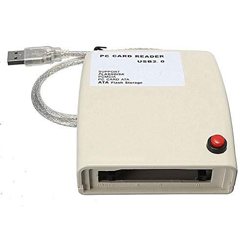 Dandeliondeme Speicherkartenleser Adapter USB 2.0 auf 68 Pin ATA PCMCIA Flash Disk -