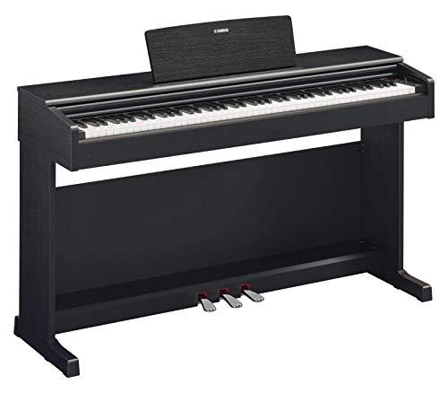 Yamaha YDP-144B - Pianoforte digitale, colore Nero