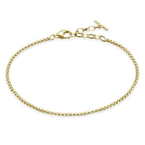 Thomas Sabo Damen-Handketten Silber_vergoldet A1561-413-12-L19.5v