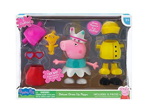 Peppa Pig Kostüm Baby - Peppa Wutz PEP0540 Verkleidungsspaß Peppa mit Sound, mehrere Farben
