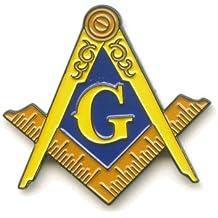 Masonic G Mason Freimaurer Badge Metall Button Luxus 3D Pin Anstecker 0512 A