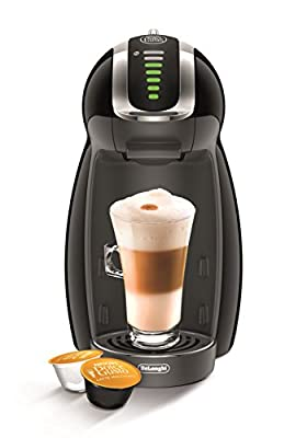 De'Longhi Nescafe Dolce Gusto Genio 2 Automatic Play and Select Coffee Machine - Piano Black