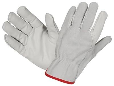 1 Paar Rindnappa-rindspaltleder Handschuhe Driver Combi Hoher Tragekomfort Griffigkeit Und Durchstichfestigkeit von Hase
