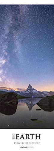 Earth - Power of Nature 2020 - Streifenkalender XXL (25 x 69) - Landschaftskalender - Naturkalender - Bildkalender - Wandkalender