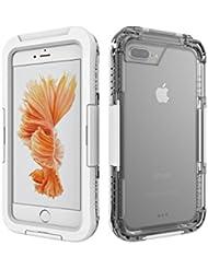 Aohang iphone 7 Plus Funda impermeable estupendo del protector para el iPhone 7 Plus, 5.5 pulgadas Extremadamente Waterproofing las últimas actualizaciones funda del iPhone7 Plus para la natación, el salto, el esquí etc.