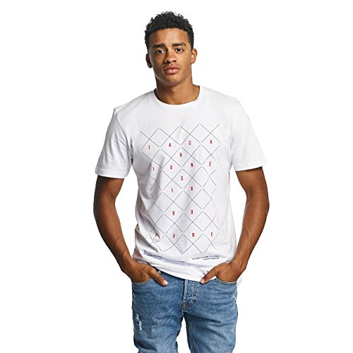 Jack & Jones Uomo Maglieria / T-shirt jjcoConcept Bianco