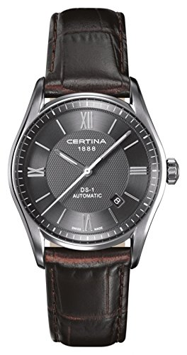 Certina-Mens-Automatic-Watch-Analogue-XL-Leather-c0064071608800