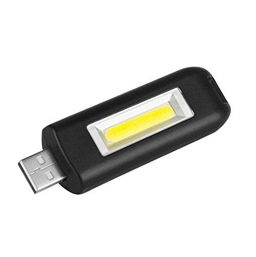 Outdoor Mini USB wiederaufladbare Schlüsselanhänger Taschenlampe Flash COB Pocket Light 3Modes
