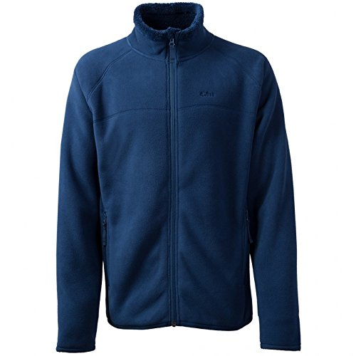 Gill Mens Polar Fleece Jacket in RED 1700