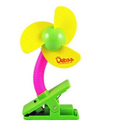 Butterme Baby Clipventilator Baby Auto Stroller Fan Clip Klemmbar Kinderwagen Ventilator/Tisch-Clipventilator