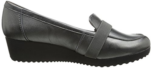 Easy Spirit Women's Kinga Ballet Flat,Pewter,6 M US Pewter