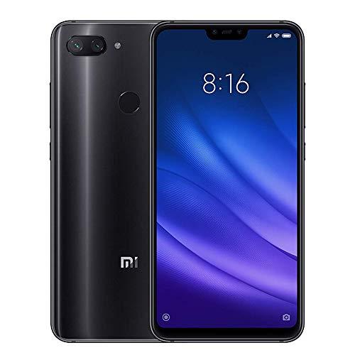 "Xiaomi Mi 8 Lite Smartphones Pantalla de Pantalla Completa de 6.26"", 4GB RAM + 64GB ROM, Tarjetas Dual SIM, cámara de 24MP Selfie y cámara Trasera de 12MP + 5MP AI Doble (Gris)"