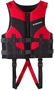 Lixada Kids Life Jacket Children Watersport Swimming Boating Beach Life Vest