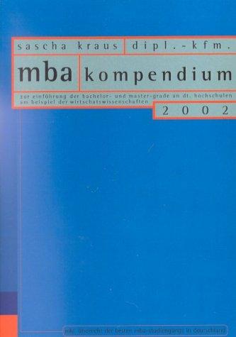 Das MBA-Kompendium 2002