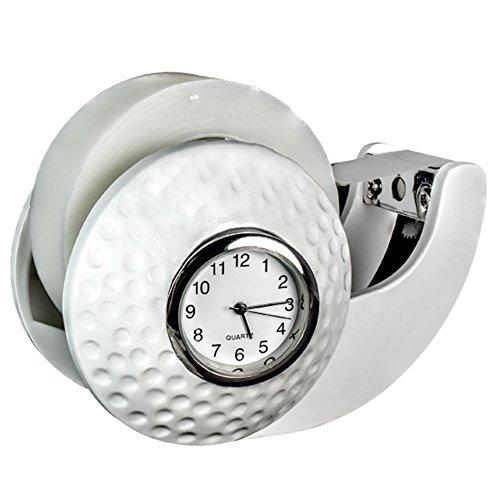 Golf Ball Tischabroller und Uhr -