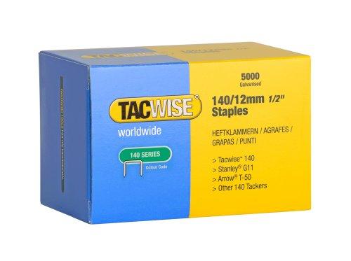 Tacwise Heftklammern Verzinkt 140/12 mm, 5000 Stück, 0343