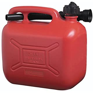 Cosmos 5L Plastic Fuel Can - Red