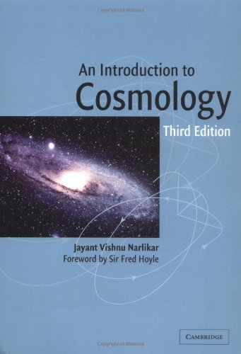 An Introduction to Cosmology 3rd Edition Paperback