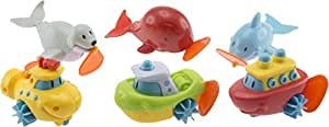 Bieco - Assortiment de jouets flottants à remontoir