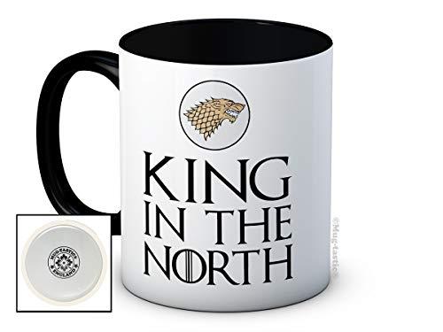 mug-tastic King in the North - Game of Thrones - de haute qualité tasse à thé café