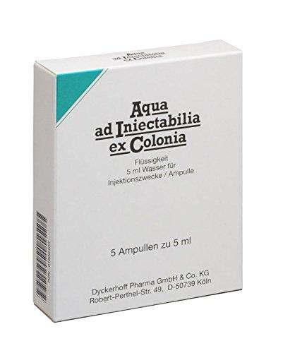 AQUA AD iniectabilia ex Colonia Ampullen 25 ml Ampullen