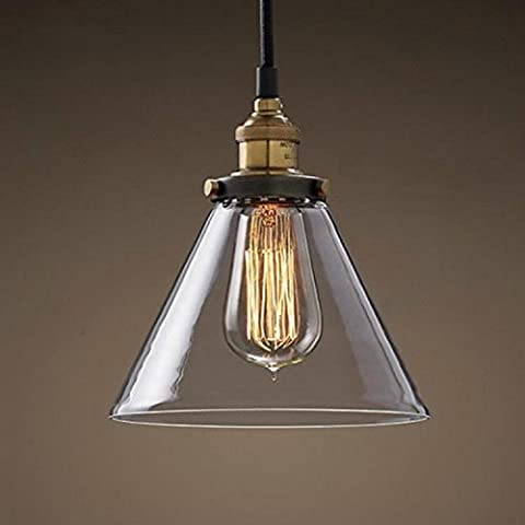 FULL Semplice Creativo Arte lampada a sospensione per la decorazione, casa, bar, ristorante,club, etc in vetro, senza luce