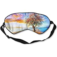 Tree Scenery Sleep Eyes Masks - Comfortable Sleeping Mask Eye Cover For Travelling Night Noon Nap Mediation Yoga preisvergleich bei billige-tabletten.eu