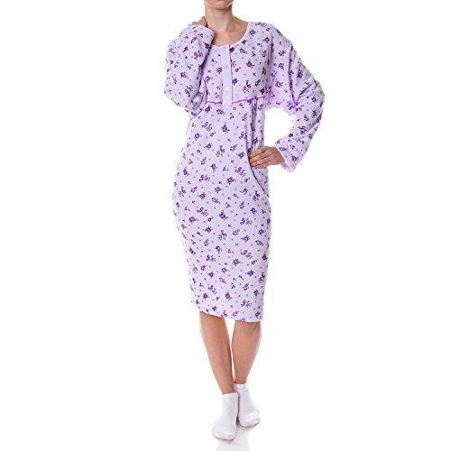 Damen-nachtwäsche 100% QualitäT Mode Frauen Sexy Robe Set Nachtwäsche Bademantel Nachthemd & Bademantel-sets Nachtwäsche Zwei Stück Weibliche Hause Tragen Drei Hülse Frühling Pyjamas Set Heißer Kaufen Sie Immer Gut
