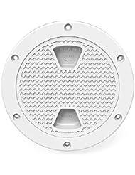 Seaflo–6inch acceso escotillas, blanco redondo para Marine barco Rv
