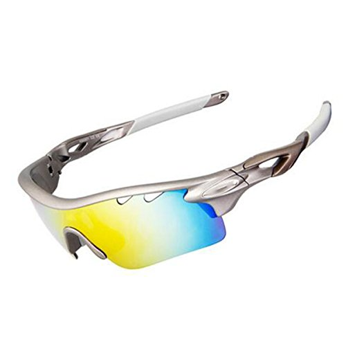 TZQ Outdoor Polarisation Sport Bergsteigen Brille,Grey