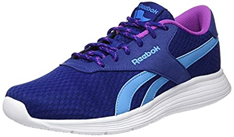 Reebok Royal EC Ride, Baskets Basses Femme, Bleu (Deep Cobalt/Cali Blue/Vicious Violet/White), 37 EU