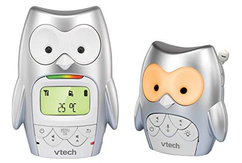 VTech 80-055600 Babyphon BM2300, grau - Eulen Grenze