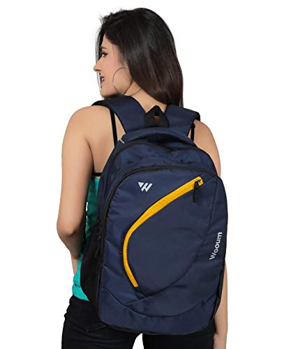 Wooum Navy Blue Light Weight 15.6 inch Casual Laptop Backpack 34 ltrs Bag Image 6