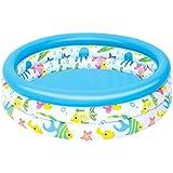 Bestway 51008 kids' play pool - billares para niños (Estampado, Multicolor, Vinilo, 950 x 950 mm)