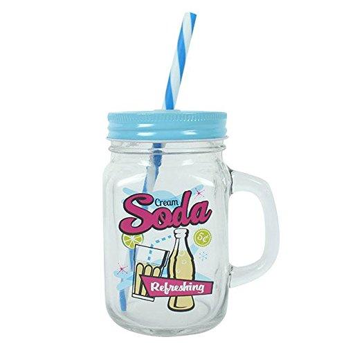 Creme Soda Mason Trinken Jar