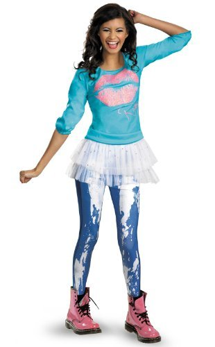 Disguise Disney Shake It Up Rocky Season 2 Classic Tween Costume, - Shake It Up Kostüm